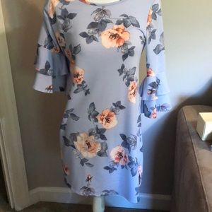 Andree Floral dress size small